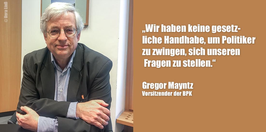 Gregor Mayntz | Foto: © Vera Linß